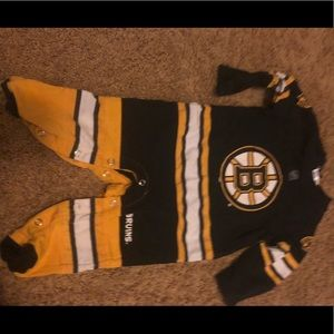Boston bruins 6 month outfit